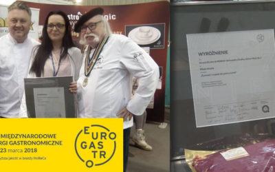 Mięso strusie wyróżnione w konkursie na najlepszy produkt targów EUROGASTRO 2018