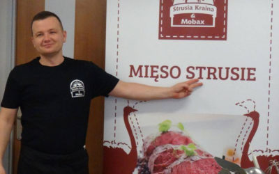 """Warsztaty """"MIĘSO STRUSIE ABC"""" współorganizowane z Gastronomia Śląsk"""