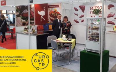 Strusia Kraina na Eurogastro 2018 -największej imprezie targowej dla sektora HoReCa